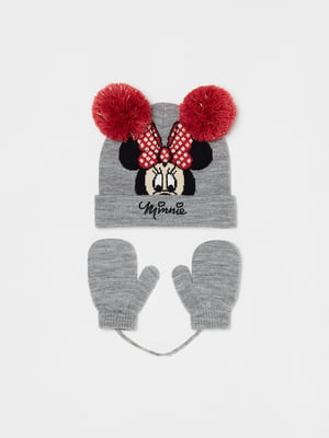 Комплект: шапка и варежки | 5605252