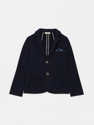 Пиджак синий | 5605382