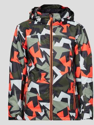 Куртка в камуфляжный принт   5584729