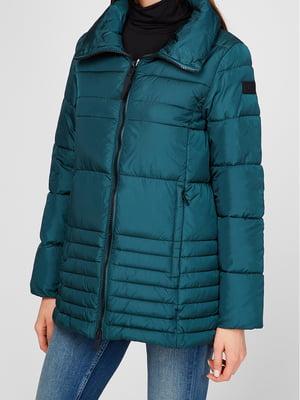 Куртка кольору морської хвилі | 5606409