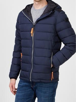 Куртка темно-синяя | 5606422