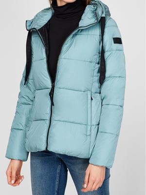Куртка бірюзова | 5606428