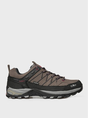 Кросівки кавового кольору RIGEL LOW TREKKING SHOES WP 3Q13247-02PD | 5606457