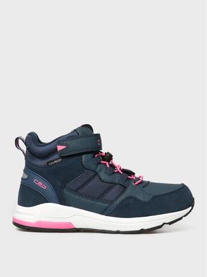 Ботинки синие | 5606502