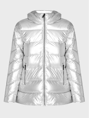Куртка сріблястого кольору   5606525