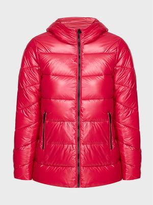 Куртка ягодного цвета | 5606526