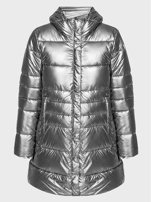 Куртка серебристого цвета | 5606527