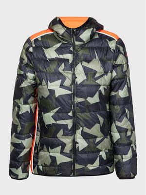 Куртка в камуфляжный принт   5606538