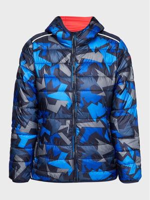 Куртка в камуфляжный принт   5606539