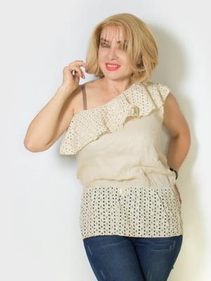 Блуза бежевая   5607141