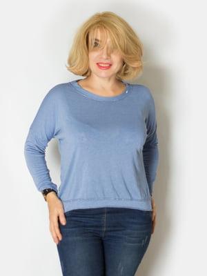 Блуза голубая | 5607177