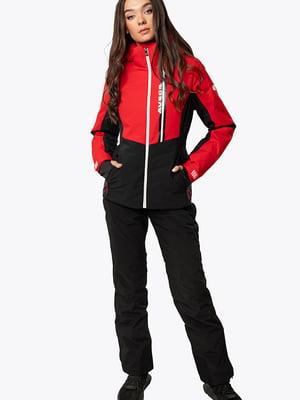 Куртка красно-черная | 5607497