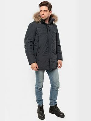 Куртка серо-синяя | 5607493