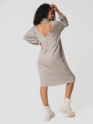 Сукня кольору бежевий меланж | 5607506