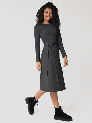 Сукня темно-сіра | 5607509