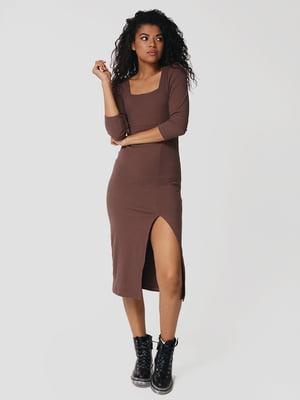 Сукня кольору мокко | 5607514