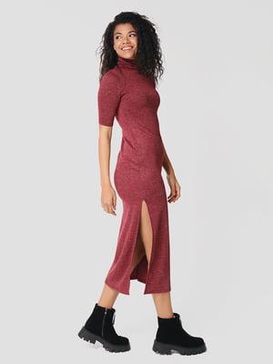 Сукня бордова | 5607534