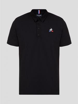 Футболка-поло черная   5512310
