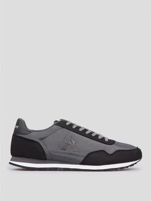 Кроссовки серо-черные | 5606376