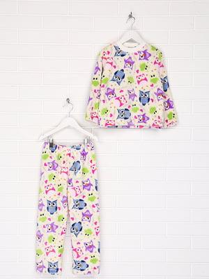 Пижама: лонгслив и брюки | 5608190
