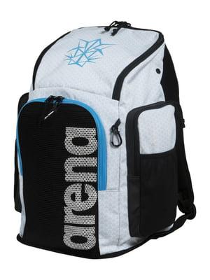 Рюкзак серо-черный с логотипом | 5606466