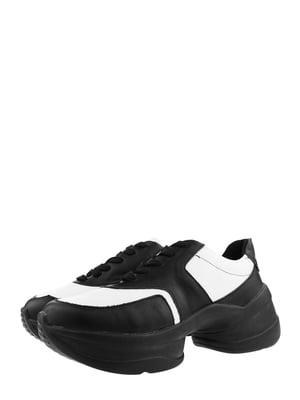 Кроссовки черно-белые | 5577904