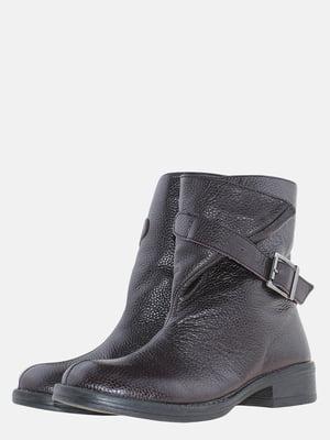 Ботинки бордовые | 5605443