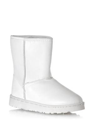Полусапожки белые   5608609