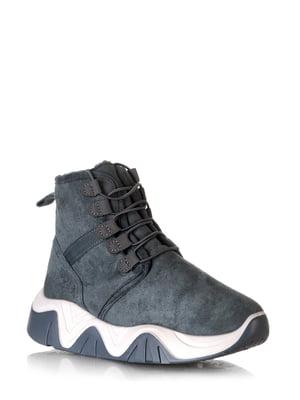 Ботинки серые | 5608616