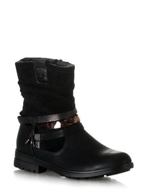 Ботинки черные | 5608623