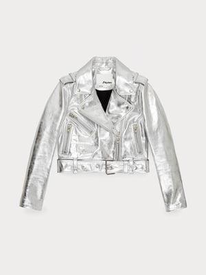 Куртка серебристого цвета   5608533