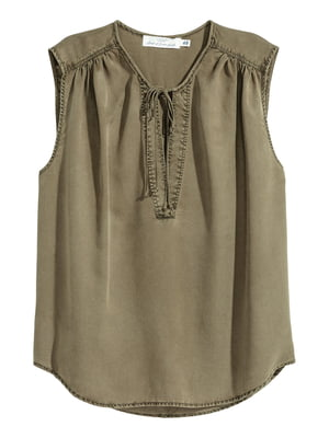 Блуза для вагітних кольору хакі | 5608784