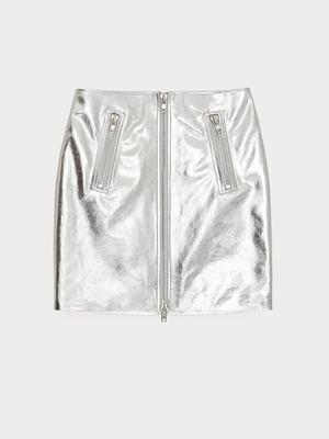 Спідниця сріблястого кольору   5608917