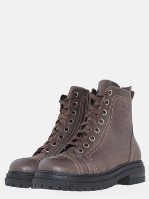 Ботинки коричневые | 5605410