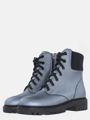 Черевики сріблястого кольору | 5605416