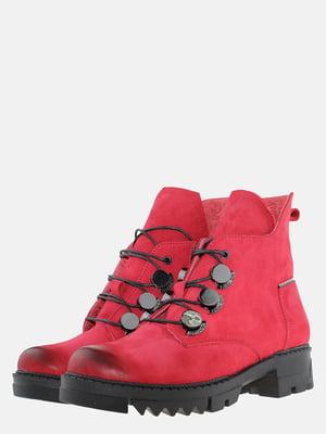 Ботинки красные | 5605457