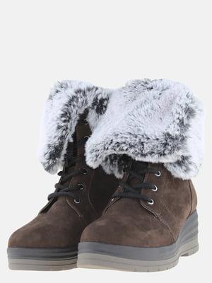 Ботинки коричневые   5608940