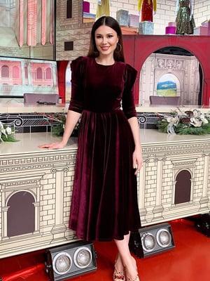 Сукня бордова | 5609022