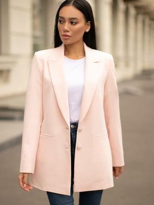 Жакет ніжно-рожевого кольору | 5609030