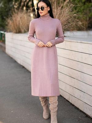 Сукня кольору пудри | 5609055