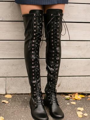 Ботфорты черные | 5609083