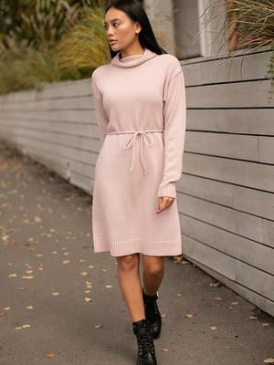 Сукня кольору пудри | 5609110
