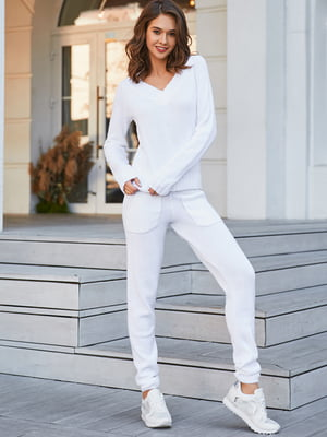 Костюм: пуловер і штани | 5609122