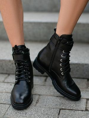 Ботинки черные | 5609124