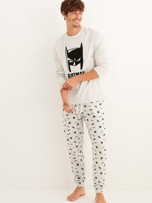 Пижама: лонгслив и брюки | 5609267