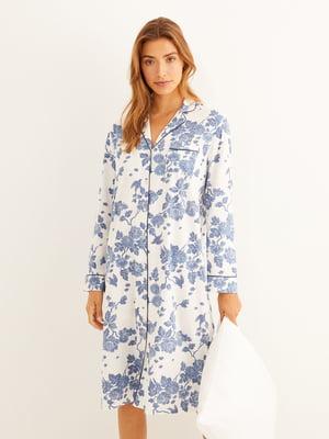 Ночная рубашка в принт | 5609281
