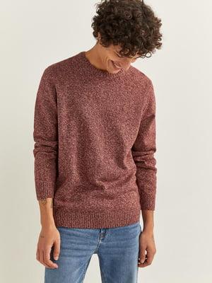 Джемпер кирпичного цвета | 5609735
