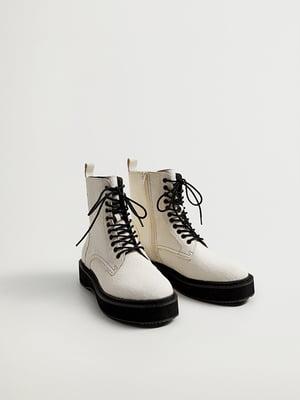 Ботинки белые | 5609787