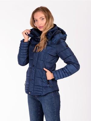 Куртка синяя   5609954