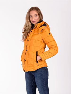 Куртка горчичного цвета   5609955